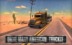 Truck Simulator USA Mod Apk Terbaru 1.7.0 Unlimited Money