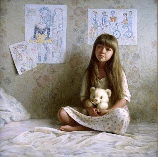 Cuadros Ninos Ninas Retratos Oleo