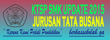 KTSP SMK JURUSAN TATA BUSANA FULL