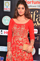 Ritika in sindoori Red Dress at IIFA Utsavam Awards 2017  Day 2  Exclusive 15.JPG