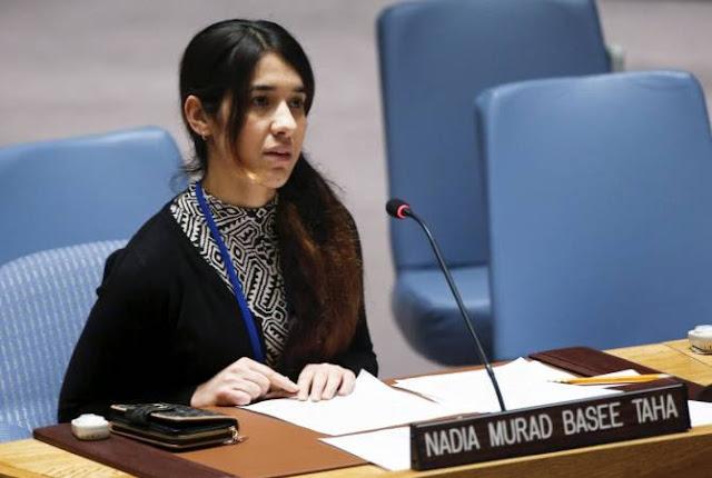 Nadia Murad llama a reconocer el genocidio armenio