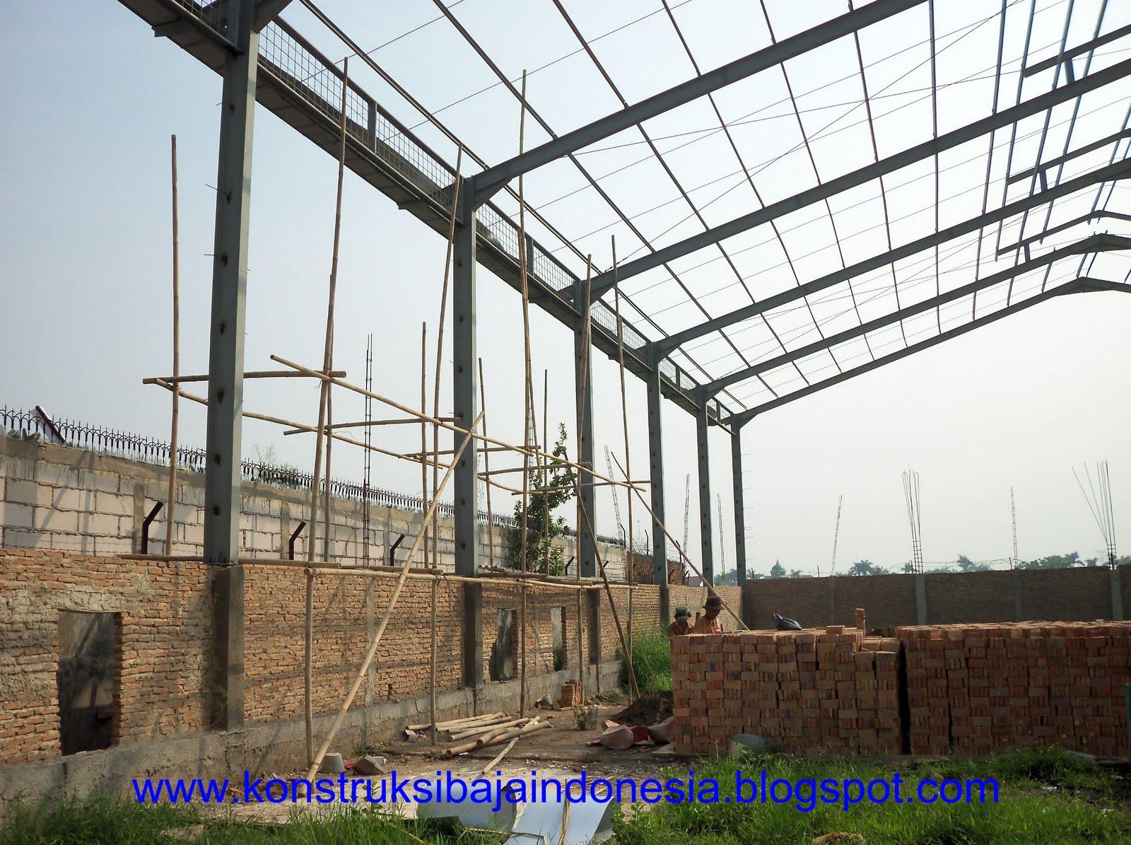 pondasi dengan baja ringan konstruksi baja: membangun gudang