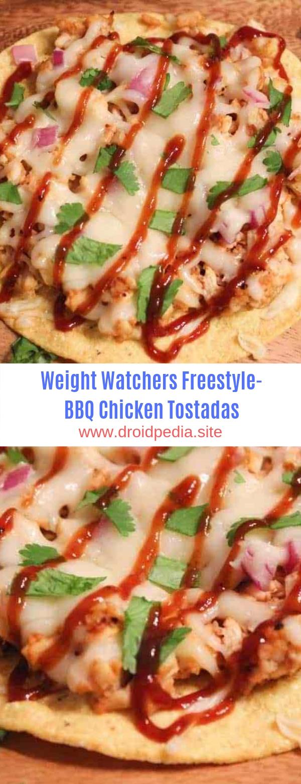 Weight Watchers Freestyle-BBQ Chicken Tostadas