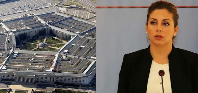 The Mystery of Minister Olta Xhaçka's visit to Pentagon