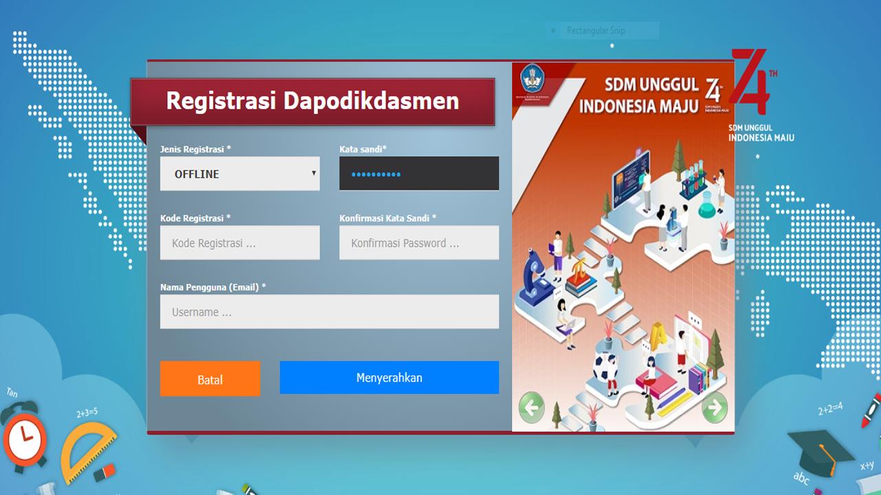 Link Unduh Aplikasi Dapodik 2020a SD/SMP/SMA/SMK/SLB
