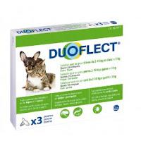 Duoflect Chien 2-10 kg et chat > 5kg 6 pipettes - 12 mois