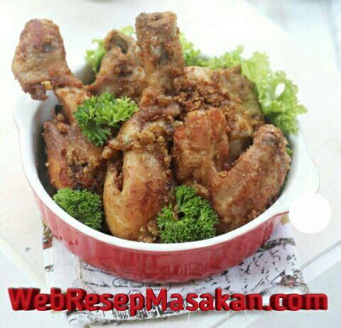 Ayam Goreng Kemiri, Resep ayam goreng kemiri,