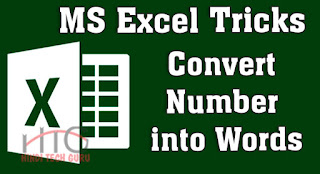 Hindi MS Excel Tricks Convert Number into Words