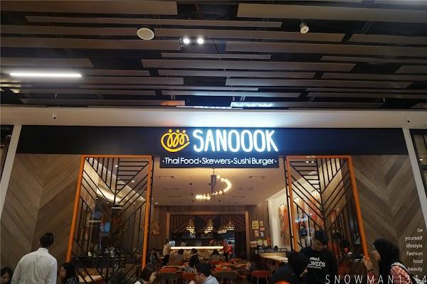 Thai + Japanese Fusion Cusine @ SANOOOK Pavilion