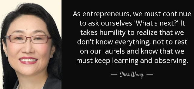 cher wang quotes