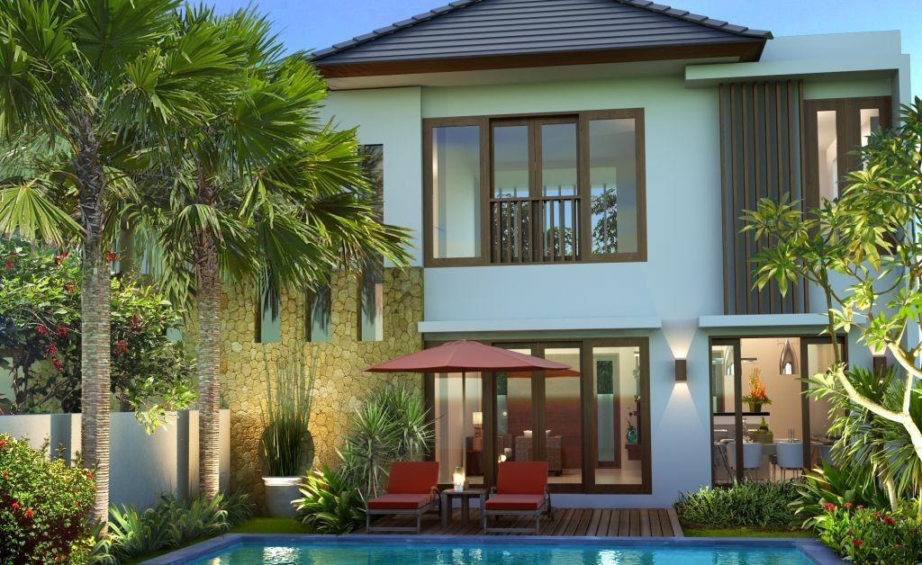 desain rumah type 130 minimalis idaman