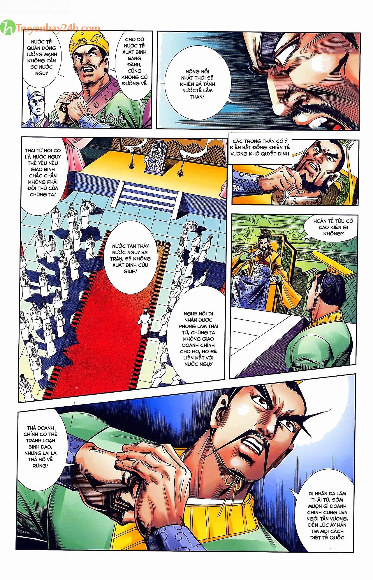 Tần Vương Doanh Chính chapter 31 trang 20