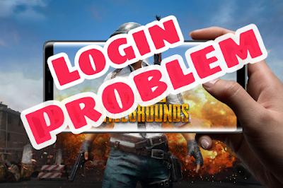 cara mengatasi susah Login PUBG mobile