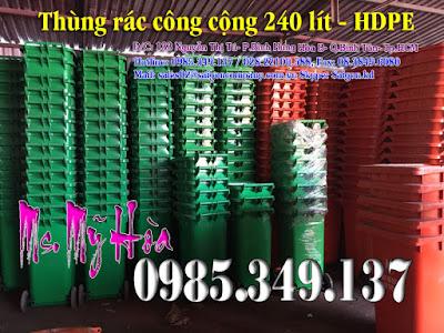 thùng-rác-120l-xanh