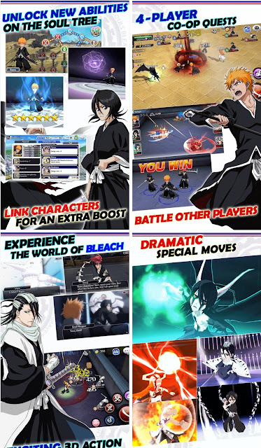 Bleach Brave Souls v7.2.1 Mod Apk (God Mode/Spirit Orbs)