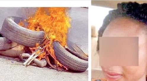 How Childless Woman Was Beaten, Burnt To Death By Angry Mob  For Stealing Baby In Hospital