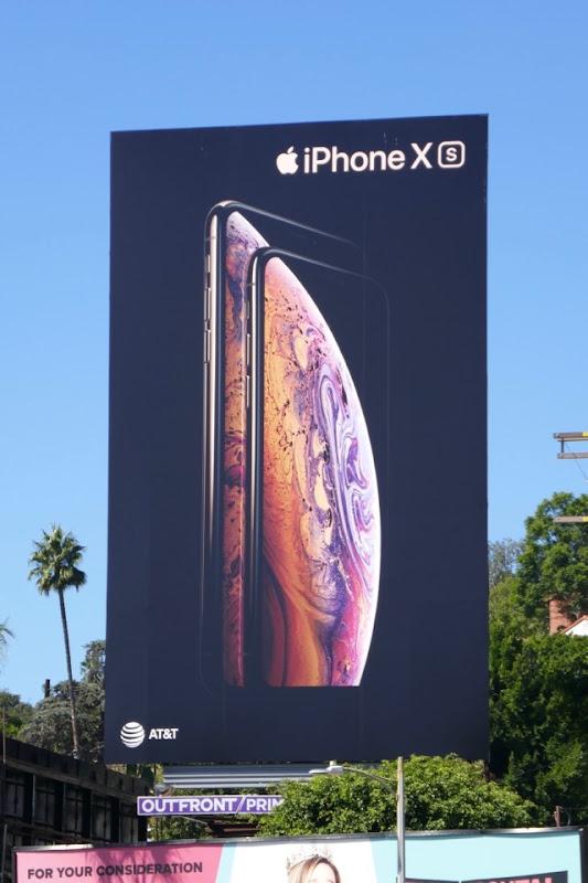 Apple iPhone XS billboard