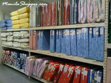 Manila Shopper Uratex Alabang Bodega Sale June2012