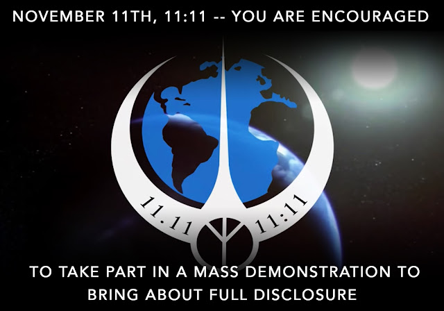 November 11th, 11:11 -- You Are Encouraged To Take Part in a Mass Demonstration to Bring About Full Disclosure  November%2B11th%252C%2B11-11%2B--%2BYou%2BAre%2BEncouraged