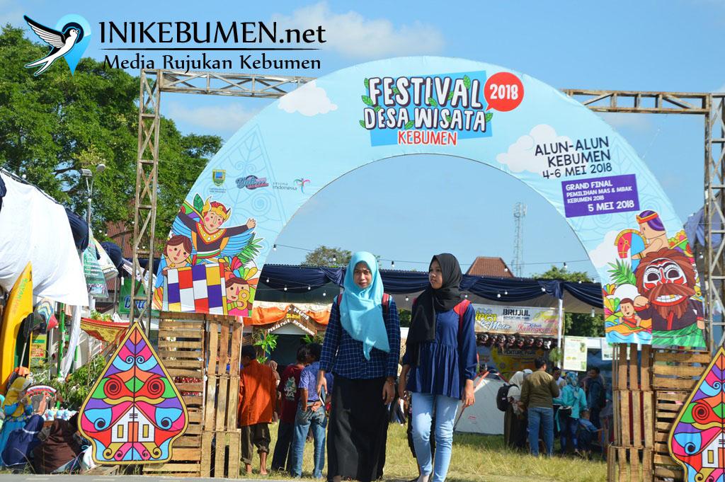 Akhir Pekan ini, Festival Desa Wisata Digelar di Alun-alun Kebumen