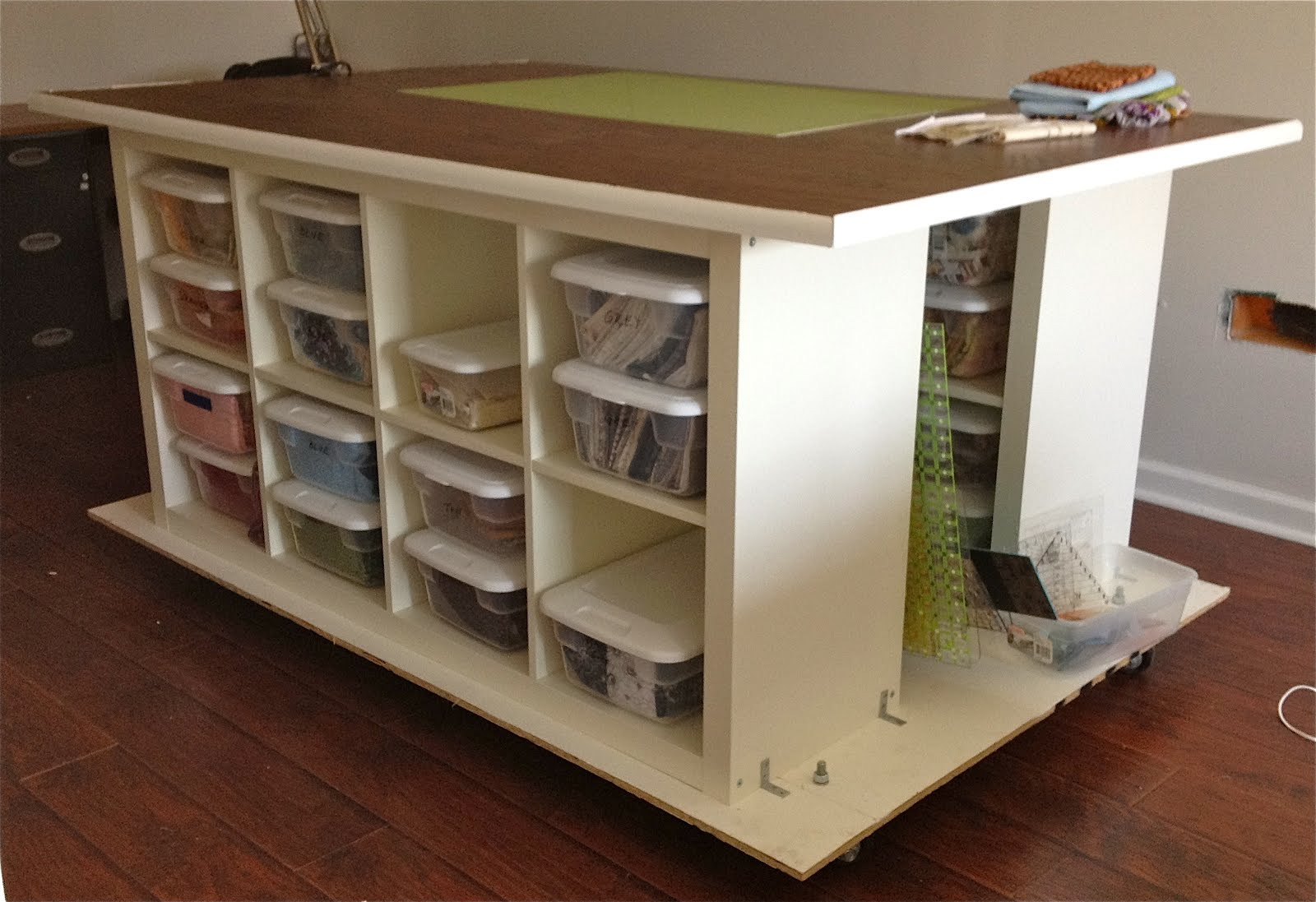Diy Craft Table With Storage Country Living Downunder