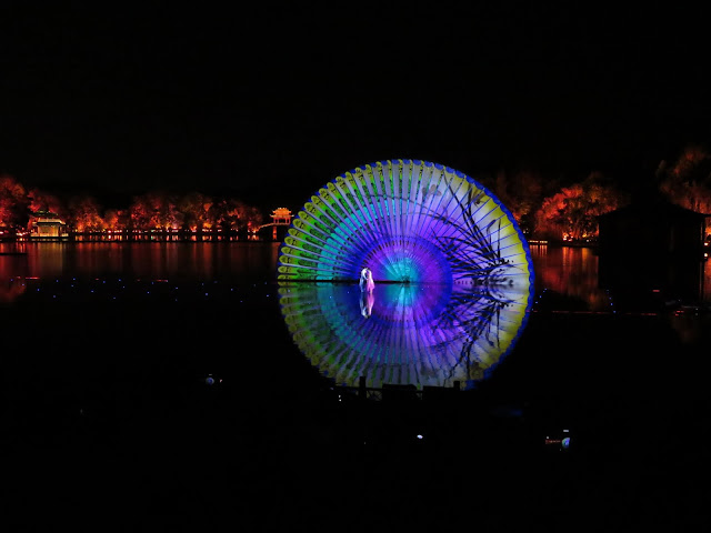 Impression West Lake Water and Light Show in Hangzhou China