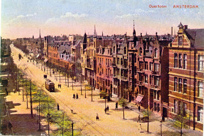 Overtoom Amsterdam, around 1900