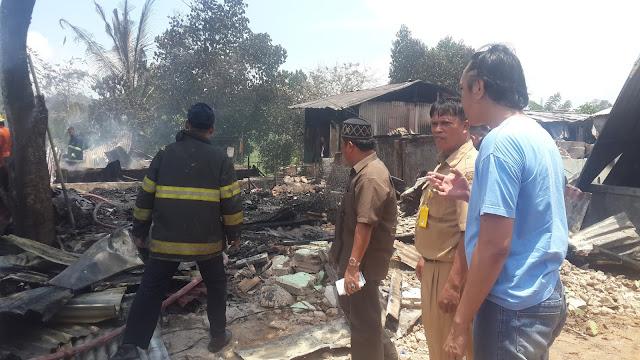 Kebakaran Di Batu Aji, Mendapat Perhatian Khusus Dari Jurado Anggota Dewan Komisi 3 Kota Batam Dan Langsung Turun Ke Lokasi.
