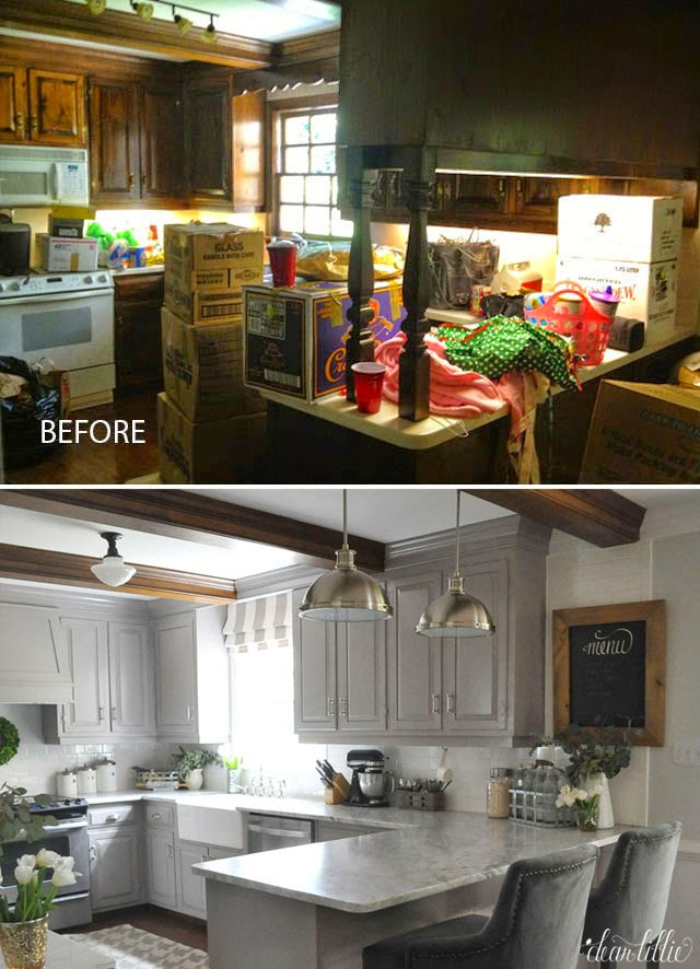 Dear Lillie: The Finishing Touches On Our Kitchen Makeover (Before