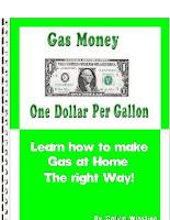 How To Make Gasoline