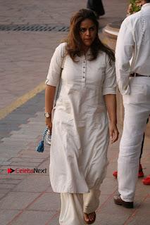 Actress Aishwarya Rai Father Prayer Meet Set 1  0003.JPG