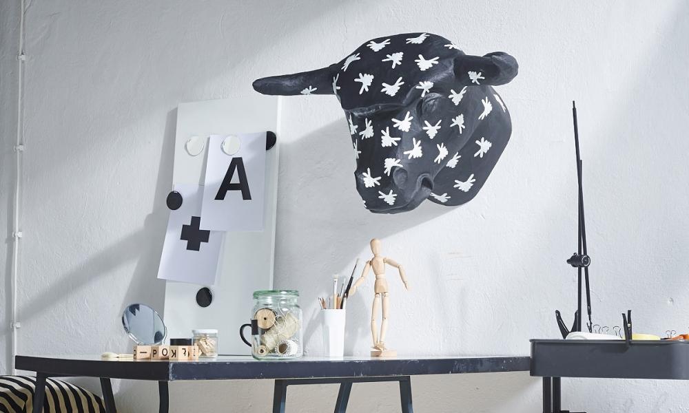 Rzeźby zwierząt na ścianę
