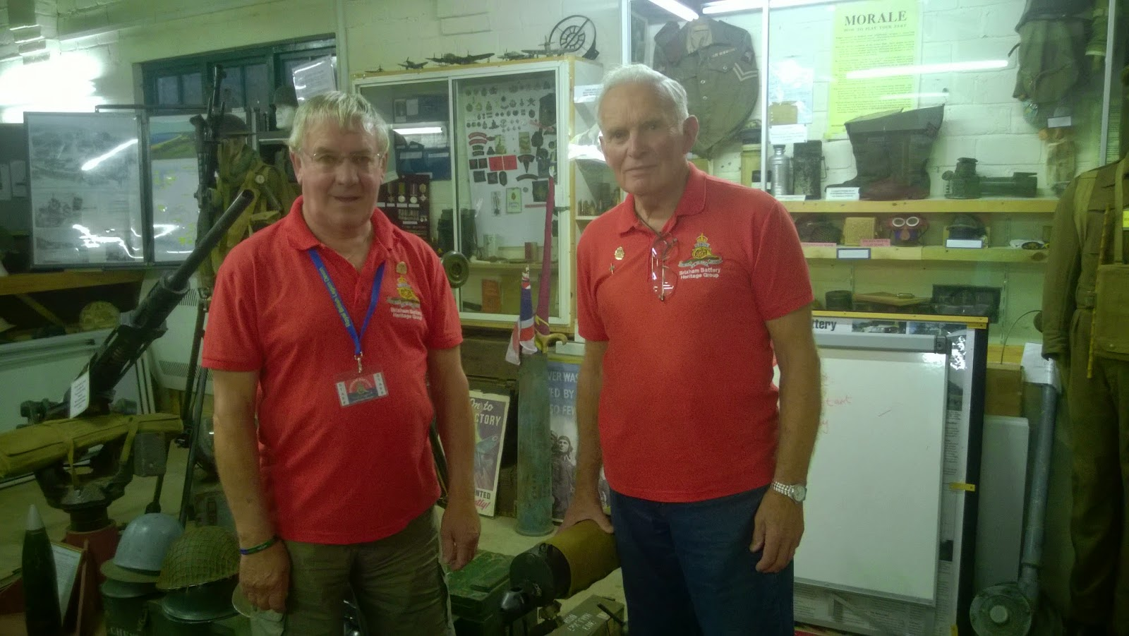 Brixham Battery Museum Volunteers