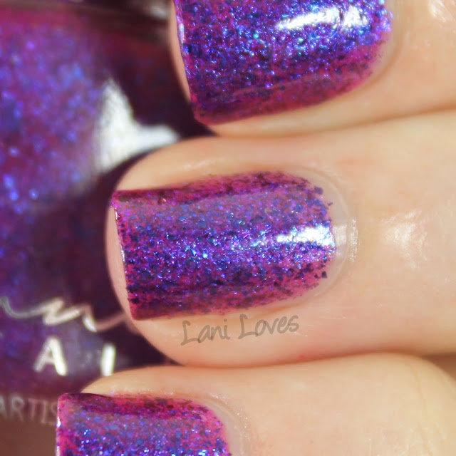 Femme Fatale Cosmetics Voices of the Outer World nail polish swatches & review