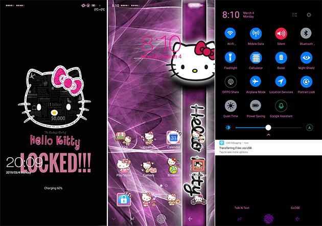 Oppo Theme: Oppo A3s HK Dark Theme