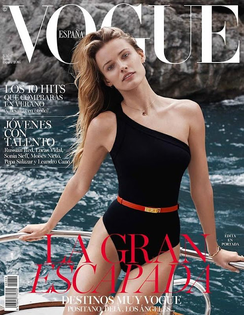 Fashion Model, @ Edita Vilkeviciute by Benny Horne for Vogue Espana June 2016