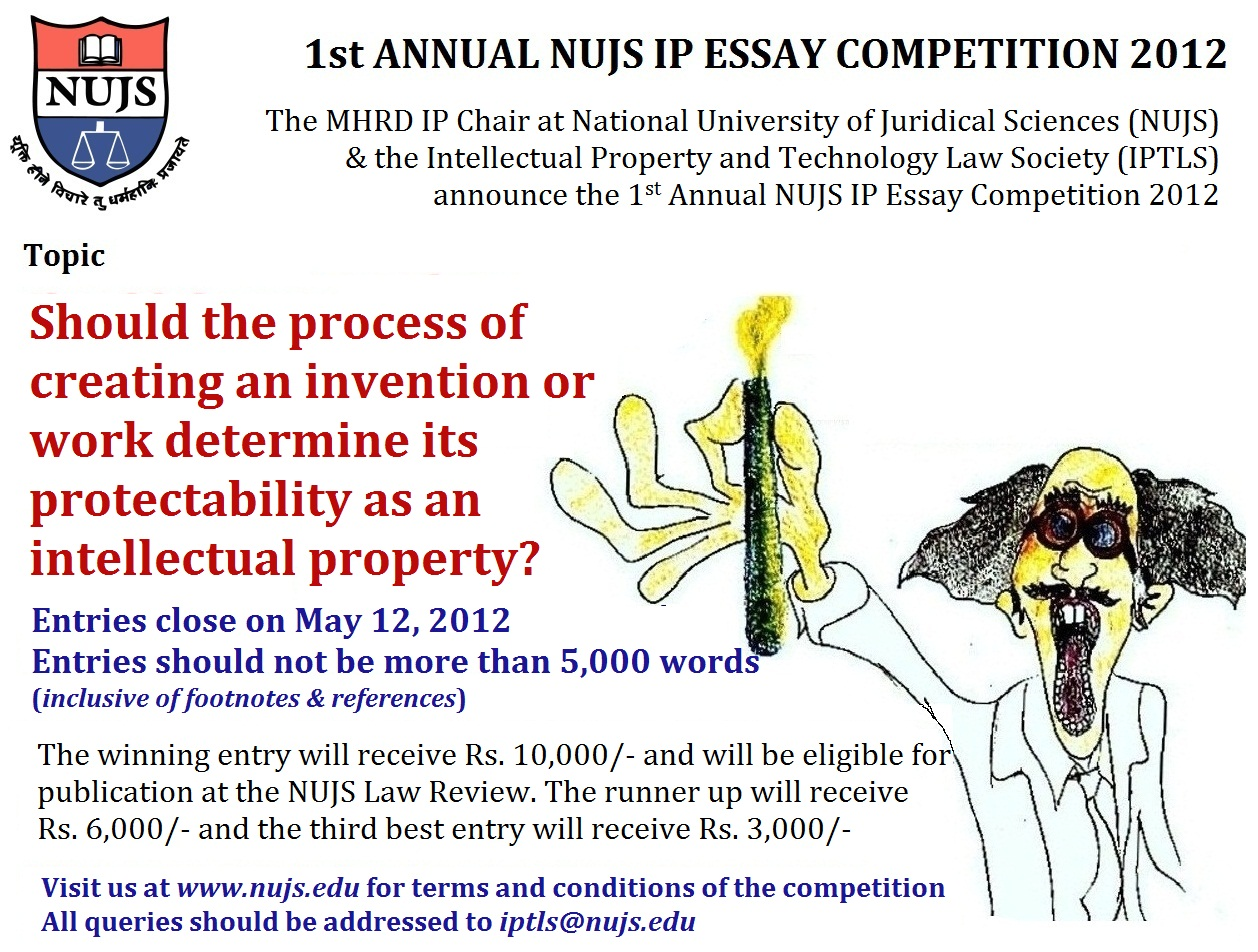 English Essay Internet Spicyip Announcements St Annual Nujs Ip Essay Competition Proposal For An Essay also Classification Essay Thesis Spicyip Announcements St Annual Nujs Ip Essay Competition  Spicyip How To Write A Thesis Paragraph For An Essay