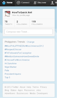 Trending Topics on Twitter