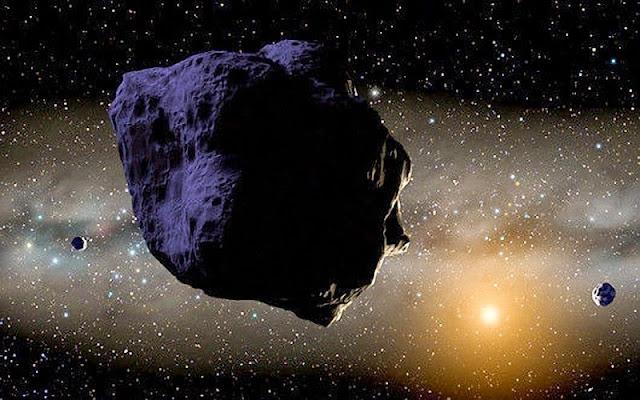 Un asteroide con su propio sistema de anillos
