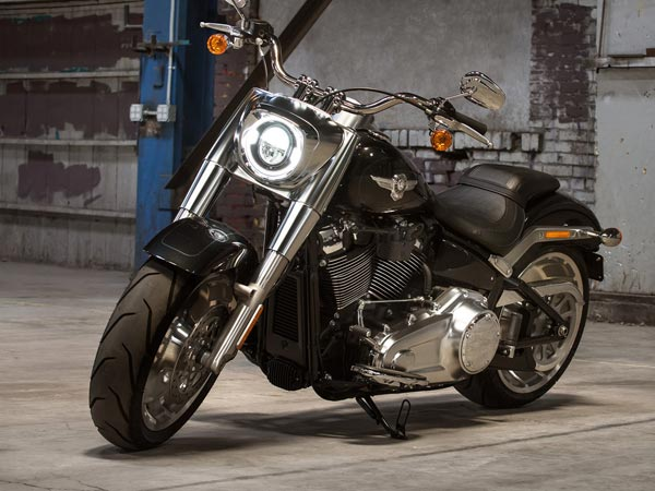 Softail series of motorcycles.
