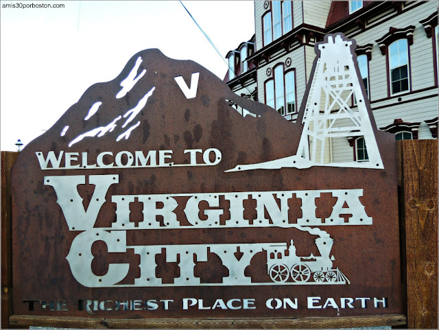 Welcome to Virginia City, Nevada