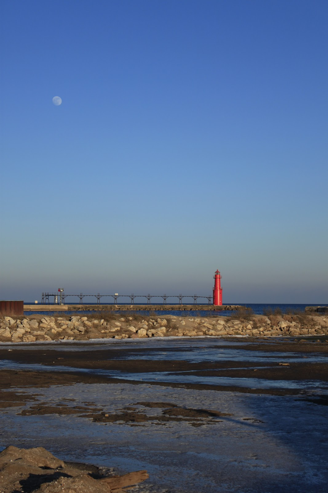 Wisconsin Historical Markers Algoma Pierhead Lighthouse