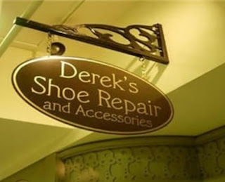 Derek's shoe repair and accessories.