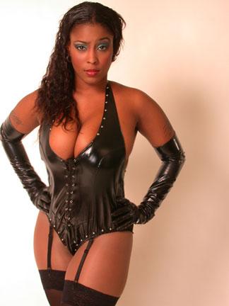 Bdsm master dominates over her lingerie sub 9
