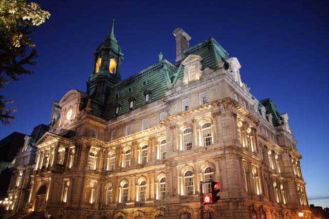 Hotel de Ville em Montreal