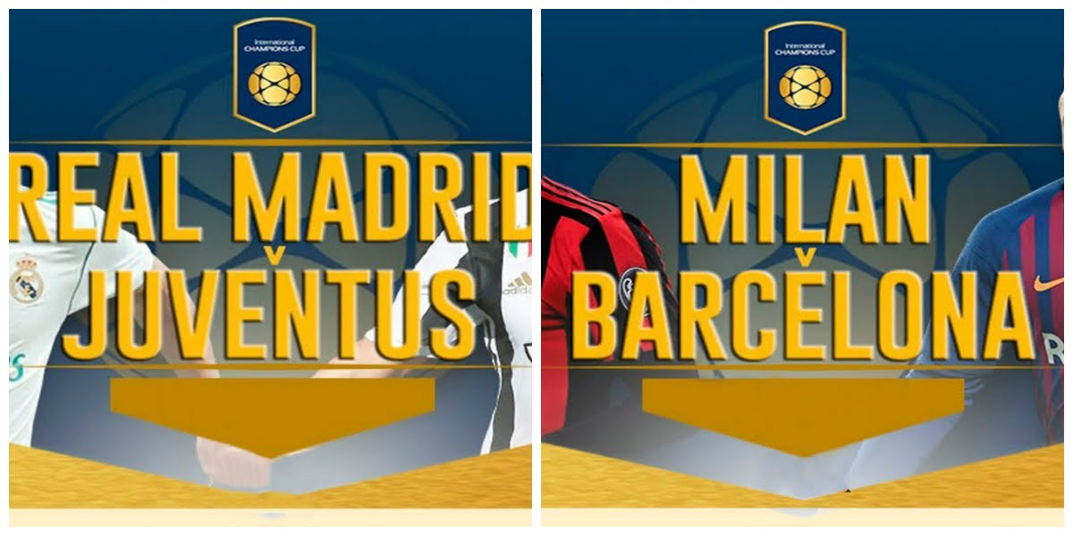 Vedere Real Madrid Juventus e Milan Barcellona Streaming Gratis Rojadirecta.