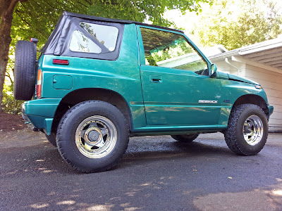 Suzuki Sidekick with two-inch BDS lift - Subcompact Culture