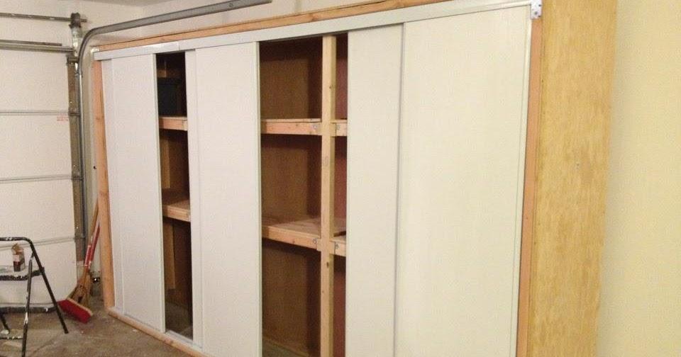 Anthony Valentino Diy Garage Storage With Sliding Doors