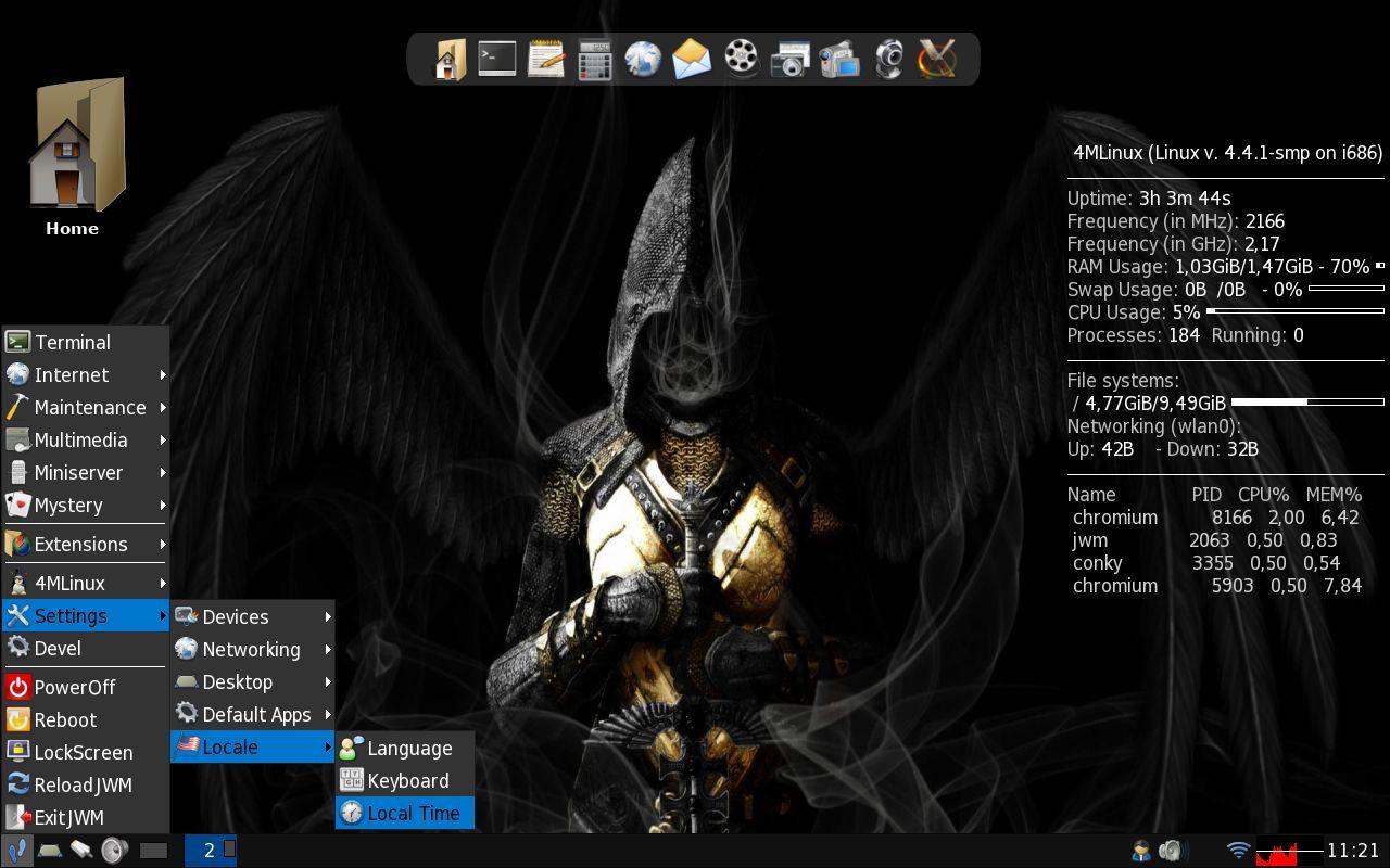 4MLinux Blog: The 4MLinux Desktop