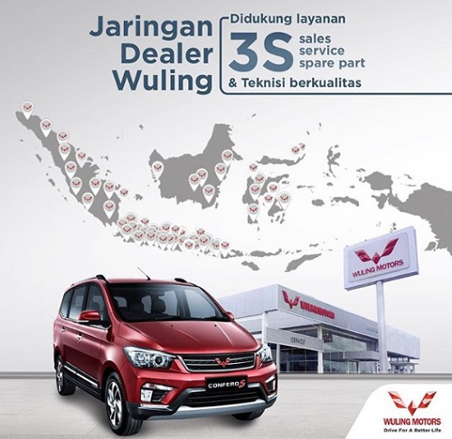 Alamat Dealer Wuling Indonesia